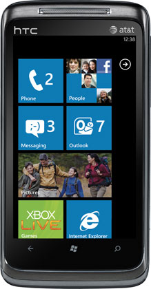 Windows Phone 7 HTC Surround