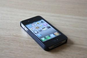 Tændt iPhone 4