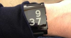 Pebble Smartwatch i brug